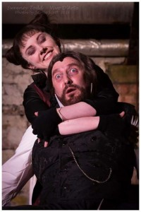 Sweeney Todd with Lucy Peacock. Image: Jamie Scott