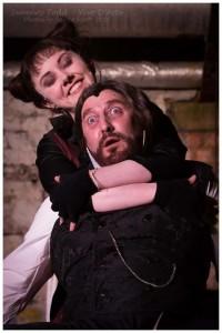 Sweeney Todd with Lucy Peacock. Image: Jamie Scott